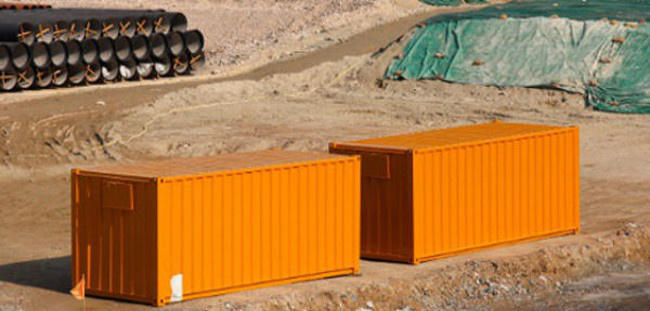 conex containers in Richmond, Virginia