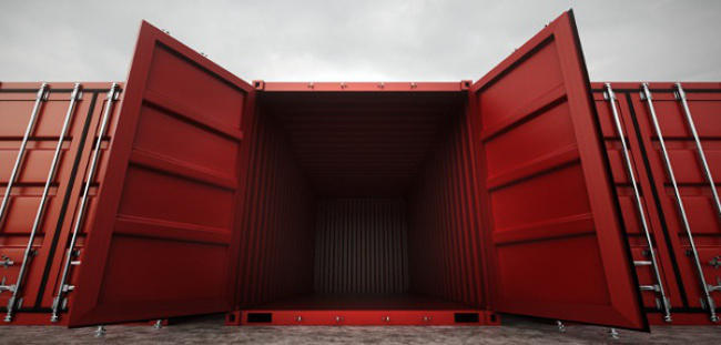 used conex containers in Richmond, Virginia